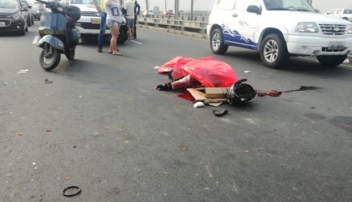 accidente Puente de la Unidad Nacional