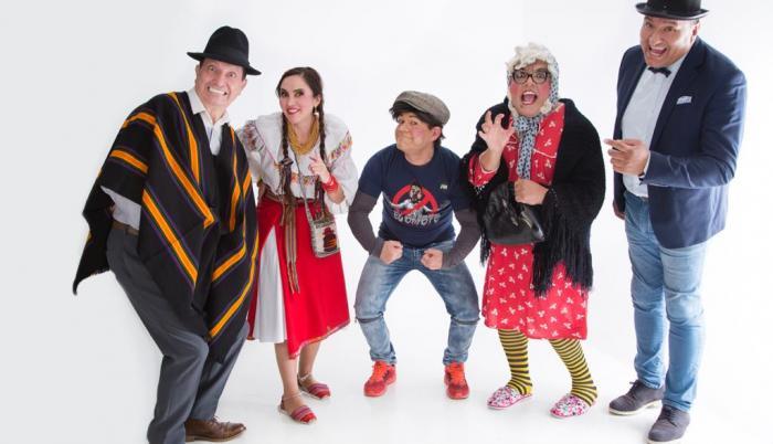 Comediantes ecuatorianos.