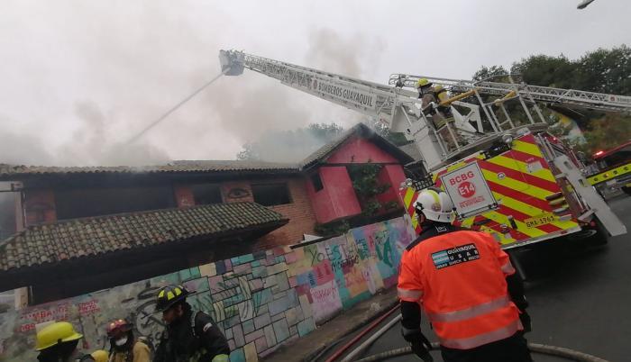 Incendio Urdesa