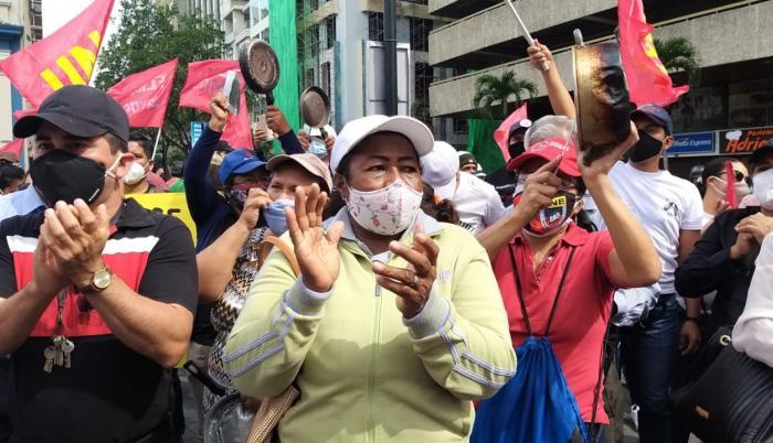 protesta docentes