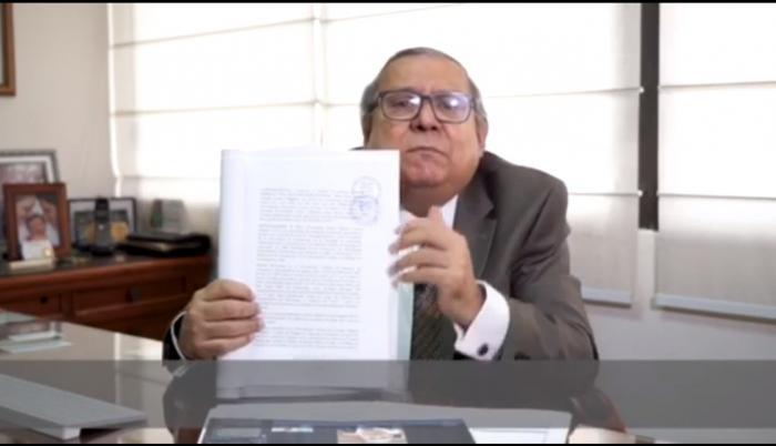 Gutemberg Vera, abogado de Rafael Correa