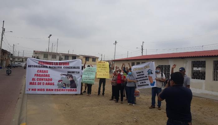 Protesta urbanización