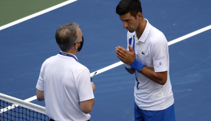 Novak Djokovic US Open 2020