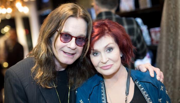 Ozzy-Osbourne y Sharon Osbourne