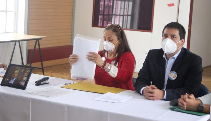 Correa- Arauz- CNE- Binomio