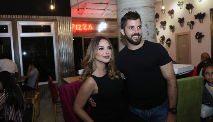 Érika Vèlez y Antonio García