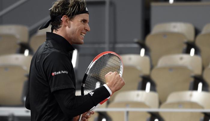 Dominc Thiem Roland Garros