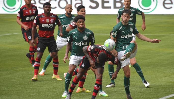 Flamengo-Palmeiras-Brasil.Coronavirus