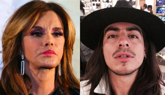 Lucía Méndez y Rey Grupero