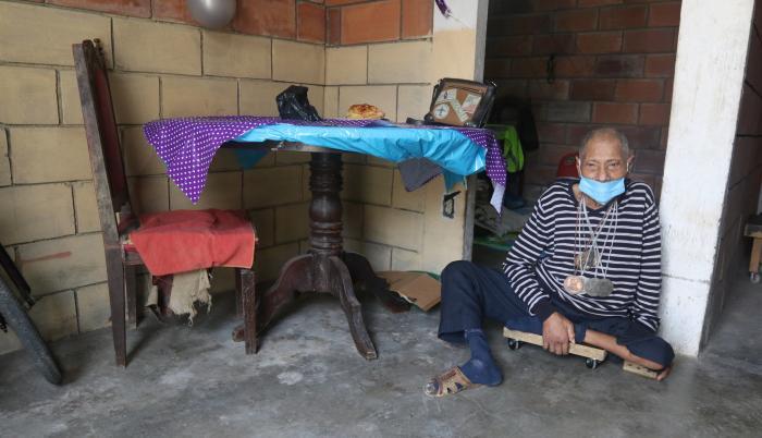 Aurelio León Olvera exdeportista discapacidad