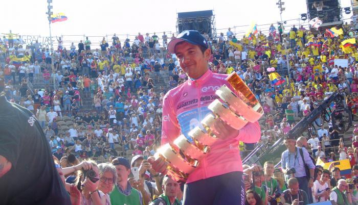 Richard+Carapaz+Ciclismo+Giro