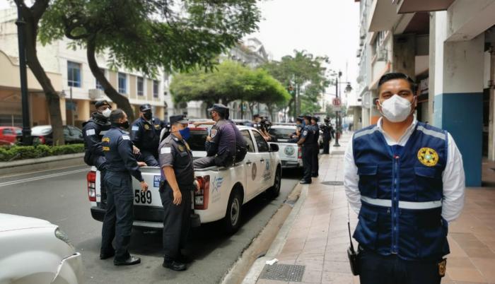 Luis Carrera, jefe de la cuadrilla 2 de la Policía Municipal.