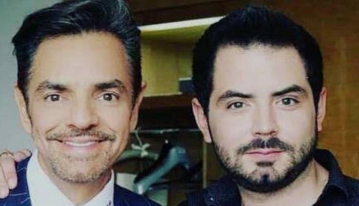 José Eduardo Derbez con su padre, el popular comediante mexicano