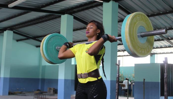 Tamara Salazar pesas Ecuador