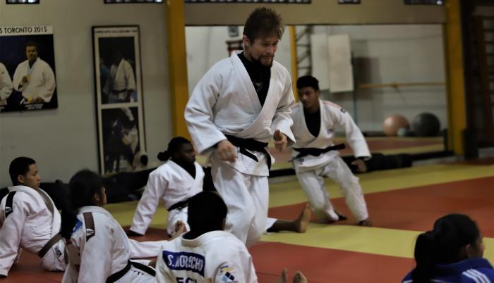 Lenin Preciado judo Ecuador