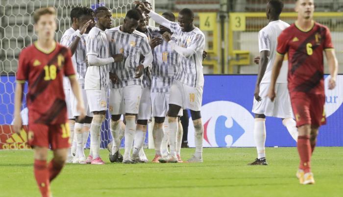 Bélgica Costa de Marfil amistoso FIFA