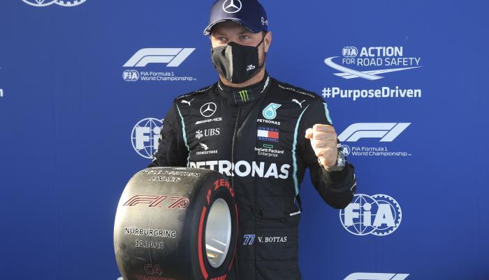 Valtteri Bottas Mercedes GP Eifel