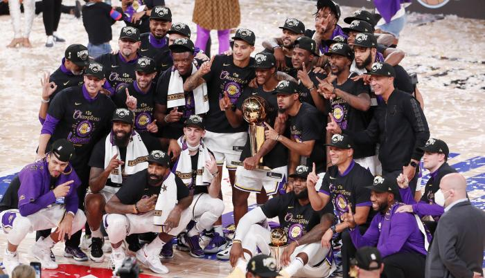 Lakers campeón NBA 2020
