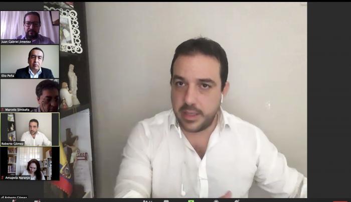 Roberto Gómez en el juicio político a María Paula Romo, 16 oct. 20