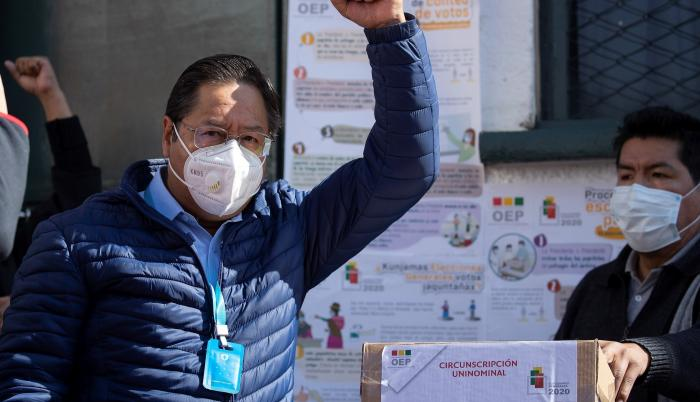 luis arce elecciones bolivia
