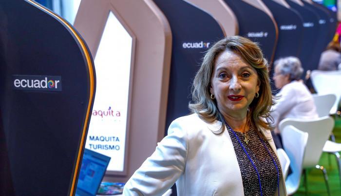 Ministra de Turismo