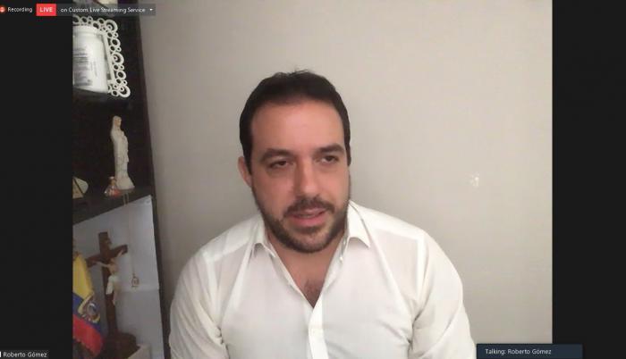 Roberto Gómez, juicio político a María Paula Romo, 22 oct. 20