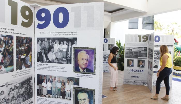 Guayaquil Tenis Club aniversario 110