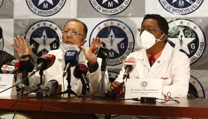 Según el gremio, el equipo de salud es el más afectado con cinco profesionales muertos en los últimos 30 días por la COVID-19.