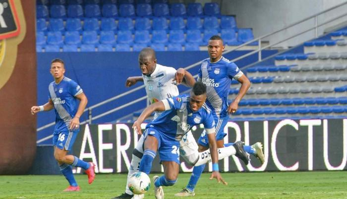 Emelec+Sudamericana+Fútbol+Rival