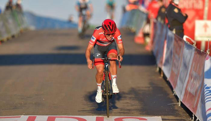 Richard-Carapaz-Vuelta-España-líder