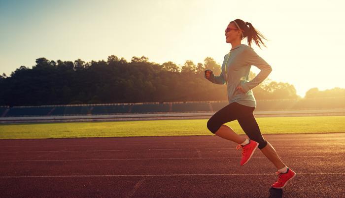 Correr le hace bien a su cuerpo