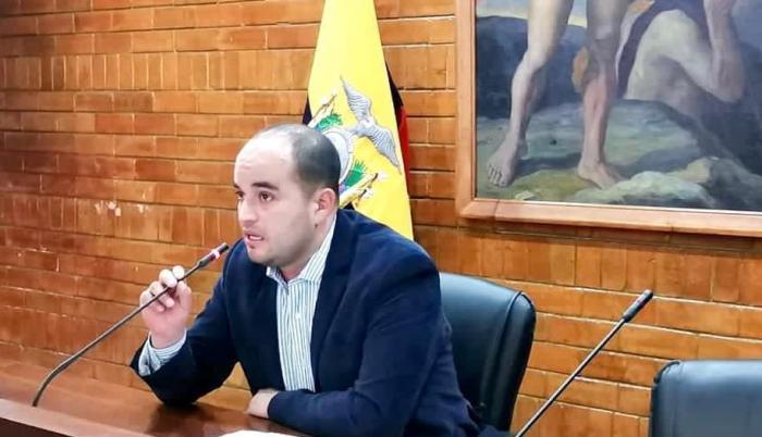 Fernando Morales, concejal de Quito.