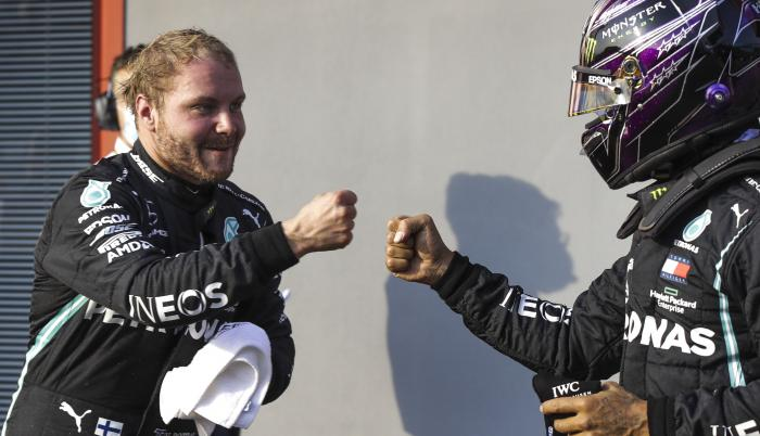 Valtteri Bottas Mercedes GP Imola
