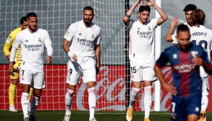 Benzema Hazard Real madrid
