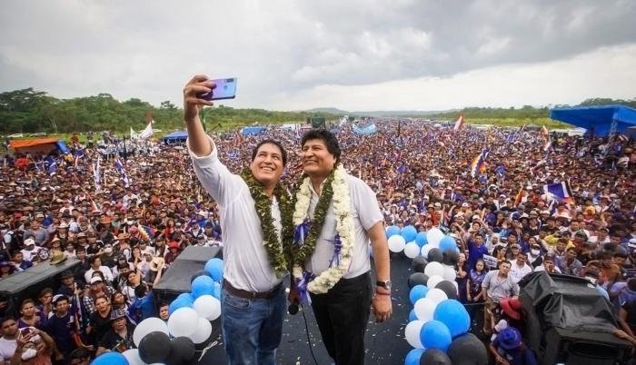 ANDRÉS ARAUZ EN BOLIVIA