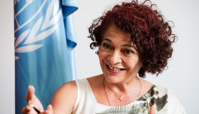 La directora de Ciencias de la Unesco para América Latina y el Caribe, Lidia Brito