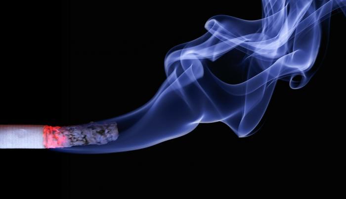 El humo del cigarrillo es perjudicial para la salud