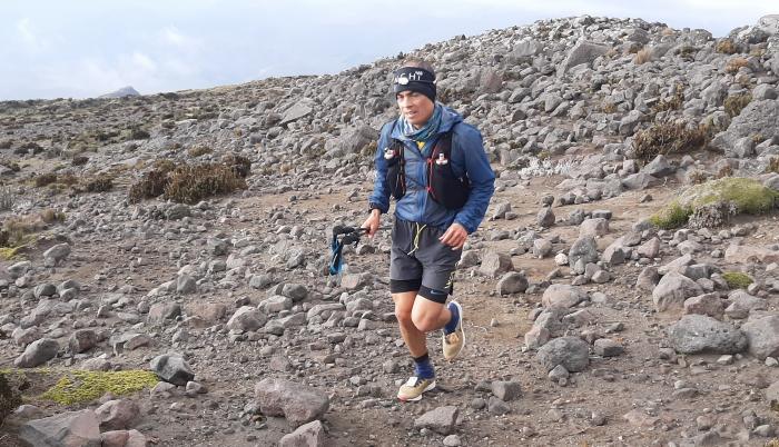 Joselito Moreno volcán Chimborazo