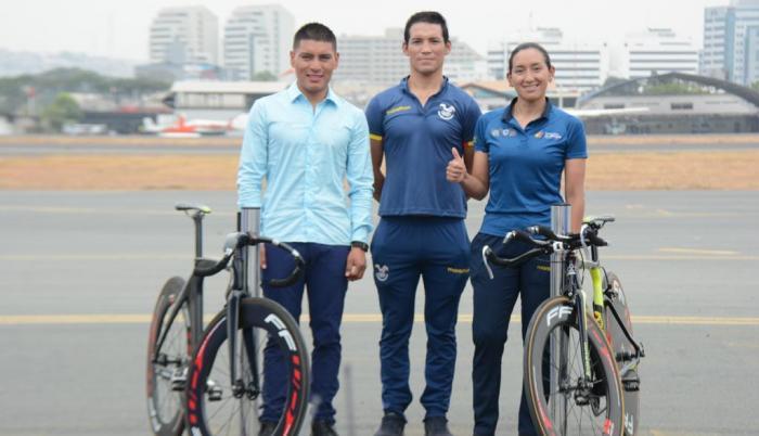 Jonathan Caicedo Myriam Núñez ciclismo Ecuador