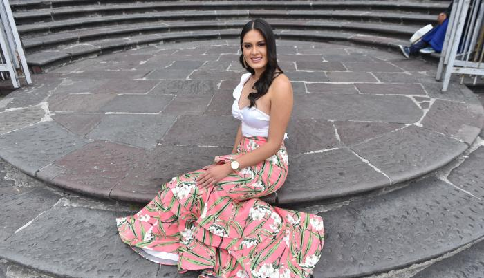 Estefy Barreno, reina de Quito 2019