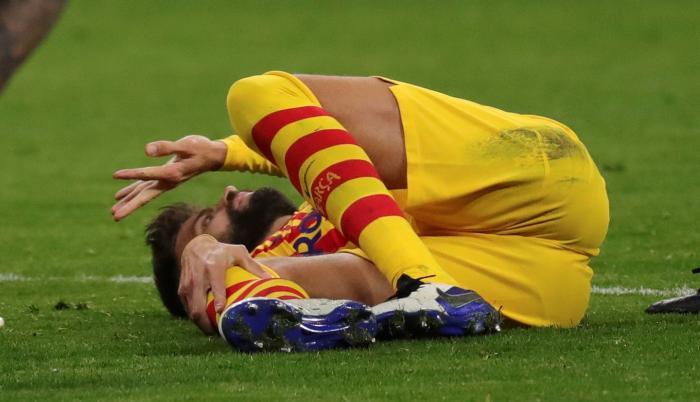 Gerard Piqué Barcelona Atlético Madrid