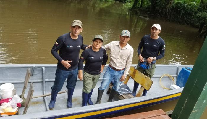 Vilma-Lucero-guardaparque-ecuador-mujer-Reserva-Produccion-Fauna-Cuyabeno