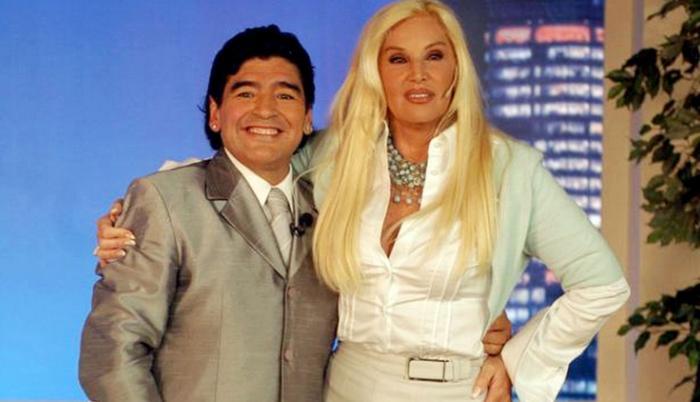 Maradona y Susana Giménez.
