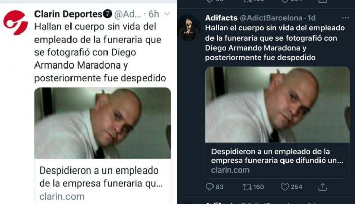 maradona-clarin-foto-muerto-diego-molina-funerario
