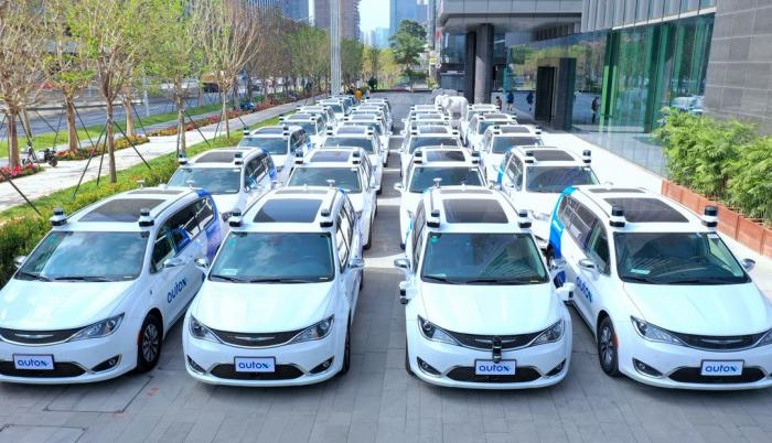 taxis sin conductor china