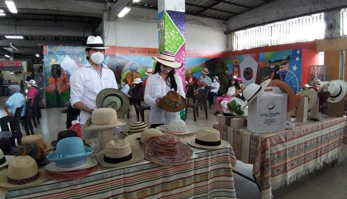 Sombreros paja toquilla
