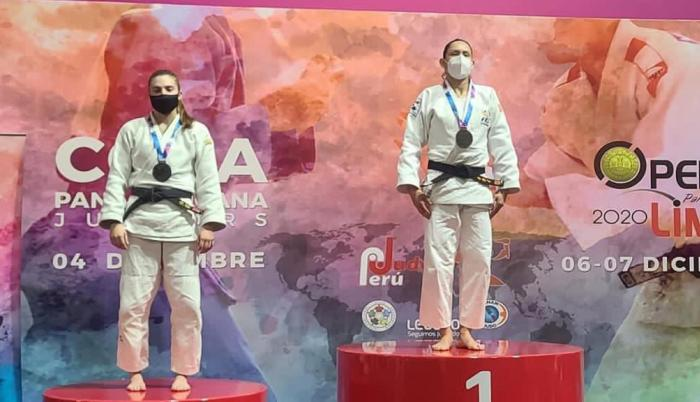 Estefanía García judo 63kg