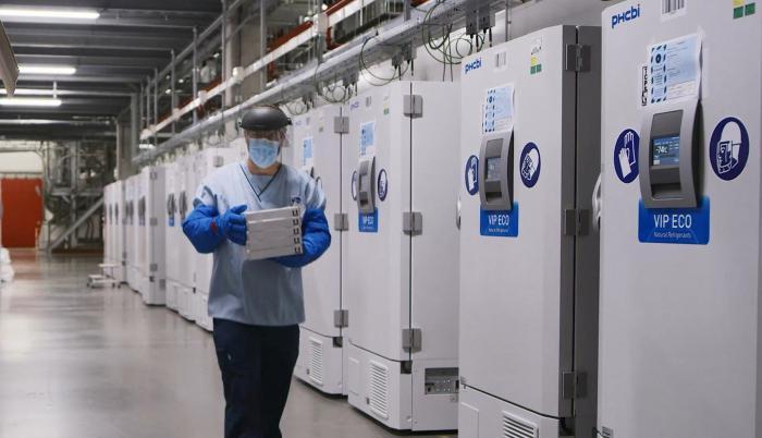 Congeladores para vacunas Pfizer