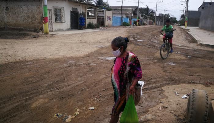 Barrios de la periferia de Playas aún no reciben obras agendadas.