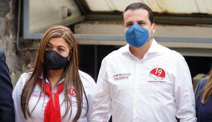 Andrade- Unión Ecuatoriana- Candidato